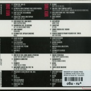 Back View : Ministry Of Sound Pres. - CLUBBERS GUIDE 2016 (2XCD) - Ministry Of Sound Uk / moscd437