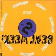 Back View : Sun Raw - BEAT WEEKS (LP + MP3) - King Underground / KU-017