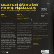 Back View : Dexter Gordon - FRIED BANANAS (180G LP + MP3) - Gearbox / GB1535 / 1071746GRL
