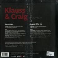 Back View : Klauss & Craig - MOMENTUM - Planet E / PLE65391-6
