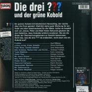 Back View : Die drei ??? - UND DER GRÜNE KOBOLD (2LP) - Europa / 19075878241