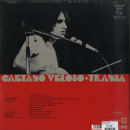Back View : Caetano Veloso - TRANSA (180G LP) - Philips / 700136
