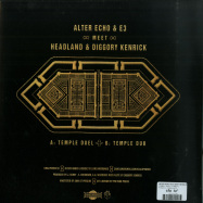Back View : Alter Echo & E3 meet Headland & Diggory Kenrick - TEMPLE DUEL (LTD 10 INCH / VINYL ONLY) - Khaliphonic / Khaliphonic013