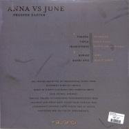 Back View : Anna vs June - PROSPER EASTER (CLEAR 180G / VINYL ONLY) - Yalanci / YALANCHI003