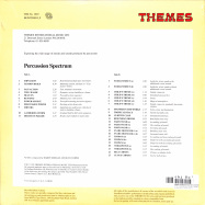 Back View : Barry Morgan And Ray Cooper - PERCUSSION SPECTRUM (THEMES) (LP) (2021 REISSUE 180G VINYL) - Be With REcords / BEWITH091LP