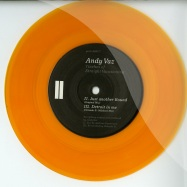Back View : Andy Vaz - 7INCHES OF STRAIGHT VACATIONING (LTD 7INCH CLEAR ORANGE VINYL) - Yore Records / YRE-000/7