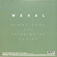Back View : Weval - EASIER EP (RE-RELEASE) - Kompakt / Kompakt 318