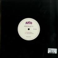 Back View : Specialist X - SILENT SILK / LOVE MYSTERY (10 INCH) - AKO Beatz / AKO10001