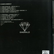 Back View : Various Artists - ESSENTIAL MEMORIES EP (2X12 INCH) - Emerald / EMERALD004