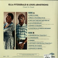Back View : Ella Fitzgerald & Louis Armstrong - CHEEK TO CHEEK (180G LP) - Wagram / 05141491