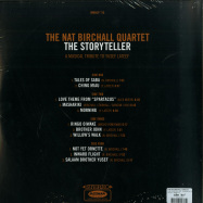 Back View : The Nat Birchall Quartet - THE STORYTELLER -  A MUSICAL TRIBUTE TO YUSEF LATEEF (180G 2LP + MP3) - Jazzman / JMANLP115