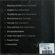 Back View : Anthony Nicholson - GRAVITY (CD) - Deepartsounds / DAS016CD