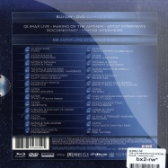 Back View : Qlimax LIVE - THE LIVE RESITRATION SPEZIAL 3DICE EDITION (BLUE RAY / DVD / CD) - Cloud9 / qdacm2011001