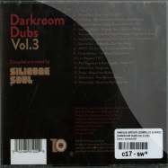 Back View : Various Artists (compiled & mixed by Silicone Soul) - DARKROOM DUBS VOL.3 (CD) - Darkroom Dubs / DRDCD006