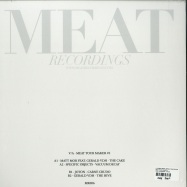 Back View : V/A (Matt Mor, Gerald VDH,Specific Objects, Joton) - MEAT YOUR MAKER 1 - MEAT RECORDINGS / MR006