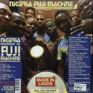 Back View : Various Artists - NIGERIA FUJI MACHINE - SYNCHRO SOUND SYSTEM & POWER (180G LP + MP3) - Soul Jazz Records / SJRLP412 / 165151
