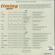 Back View : Jacky Giordano - TIMING ARCHIVES (LP) - Farfalla Records / FR02LP