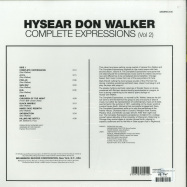 Back View : Hysear Don Walker - COMPLETE EXPRESSIONS VOL. 2 (180G LP) - Demon / DEMREC400