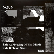 Back View : Noun (Daniel Avery & Roman Fluegel) - MEETING OF THE MINDS - Live at Robert Johnson / Playrjc 059