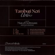 Back View : Tamburi Neri - URLO EP (INCL. MARCEL DETTMANN INTERPRETATIONS) (2LP) - DANZA TRIBALE / DNZT009