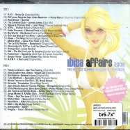 Back View : Various Artists - IBIZA AFFAIRS 2008 (2CD) - GM Productions / GMPRO005