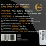 Back View : Alexi Delano & Cari Lekebusch - THE PATH OF HYBRID(3XCD) - H-Productions / HPX57CD