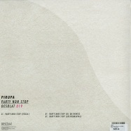 Back View : Pirupa - PARTY NON STOP (DJ QU REMIX) - Desolat / Desolat019