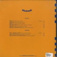 Back View : Benoit Hutin - ELECTRONIC (LP) - Camisole Records / CAM010