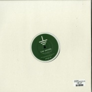 Back View : Cab Drivers - LAGOON OF ENDLESS GREEN / SECOND MUSH (GREEN TRANSPARENT VINYL) - Ground Service Records / GROUND003