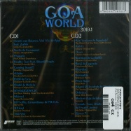 Back View : Various Artists - GOA WORLD 2019.1 (2CD) - Pink Revolver / 2422232