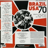 Back View : Various Artists - BRAZIL USA 70 (2LP + MP3) - Soul Jazz / SJRLP428 / 05176411