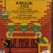 Back View : Sol Power All-Stars - WE PUSH ON - Soul Clap Records / SCR1253