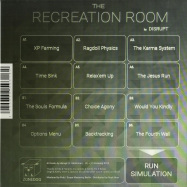 Back View : Disrupt - THE RECREATION ROOM (LP) - Zonedog / ZDR 01