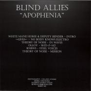 Back View : White Mane Horse / Deputy Bender / Uhu / Theory Of Noise / Olloy / Rnbws - APOPHENIA (140 G VINYL) - Blind Allies / BAREC 012