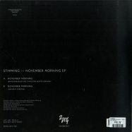 Back View : Stimming - NOVEMBER MORNING (12 INCH + MP3) - 2Diy4 / 2DIY4-06