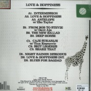 Back View : Feindrehstar - LOVE & HOPPINESS (2X12 INCH LP+MP3) - Musik Krause LP 006