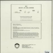 Back View : Dan Kye - JOY, ERASE, LIGHTNESS - Rhythm Section International / RS017