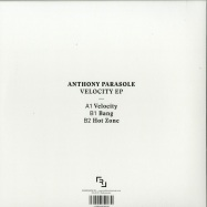 Back View : Anthony Parasole - VELOCITY EP - Redimension / REDIMENSION003