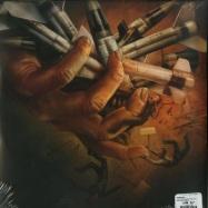 Back View : Vinnie Paz - THE PAIN COLLECTOR (LTD BLACK & ORANGE 2LP) - Enemy Soil / ES1802o