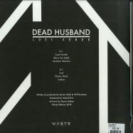 Back View : Dead Husband - LUXE KONDO (WHITE LP) - Waste Edition / W06