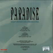 Back View : Deep Invention Orchestra - PARADISE (REMASTERED) (REISSUE) (LIMITED 12 INCH) - Best Italy / BST X071
