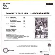Back View : Conjunto Papa Upa - Libre Para Amar (LP) - Names You Can Trust / NYCTLP04