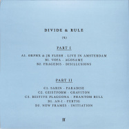 Back View : Various Artists - DIVIDE & RULE (2X12 INCH) - Pi Electronics / PEVA03