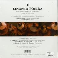 Back View : Various Artists - LEVANTA POEIRA (COMPILED BY TAHIRA) - Jazz & Milk / JMLP003