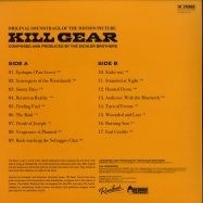 Back View : The Eichler Brothers - KILL GEAR (BLACK & ORANGE LP) - Redrum Recordz / RFR005-RED051