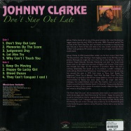 Back View : Johnny Clarke - DONT STAY OUT LATE (LP) - Kingston Sounds / KSLP074