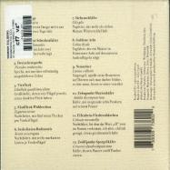 Back View : Dominik Eulberg - MANNIGFALTIG (CD) - !K7 Records / K7380CD / 05179962