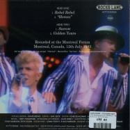 Back View : David Bowie - THE MOONLIGHT EP (ORANGE 7 INCH) - Rocks Lane / KITTY27EP008-C
