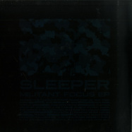 Back View : Sleeper - MILITANT FOCUS EP - Crucial / Crucial026