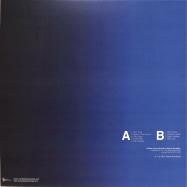 Back View : Aural Imbalance - TRANSPARENT BLUE LP - Stasis Recordings / SRWAX12